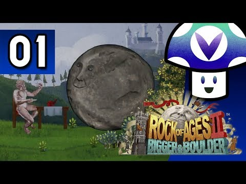 [Vinesauce] Vinny - Rock of Ages 2: Bigger & Boulder (part 1)