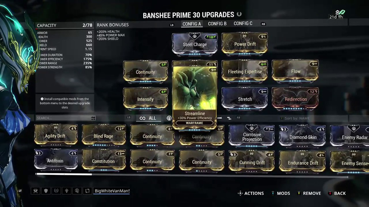 Dread Build Fr
