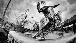 Philipp Schuster Skateboarding in
