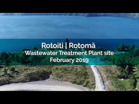 Wastewater Treatment Plant site footage - February 2019