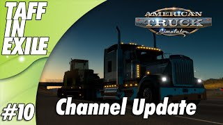 American Truck Simulator | Channel Update and delivery!