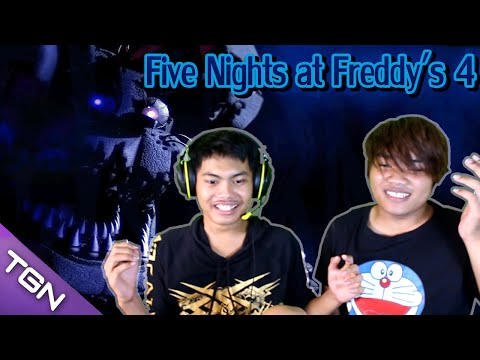 Five Nights at Freddy's 4 #2 [โบ้ท&เป้] เกมมาใหม่ต้องเล่น2คน | สนับสนุนโดย dks.in.th