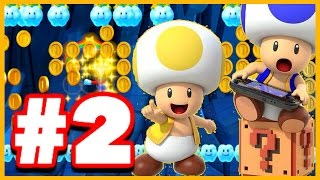 EPIC 10 MARIO CHALLENGE! - Super Mario Maker - Super Mario Maker Gameplay Walkthrough Part 2 (Wii U)