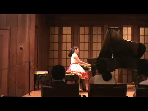 May Zhang 2017 Berkley East Bay Music Foundation Competition