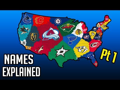 NHL/How EVERY Team Got Its Name And Identity (Part 1)