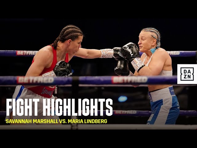 HIGHLIGHTS | Savannah Marshall vs. Maria Lindberg
