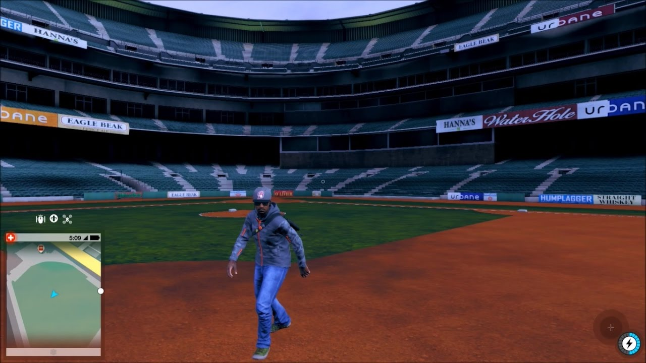 Watch Dogs Baseball Stadium