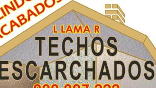 ¿Sus techos necesitan un mejor ACABADO?  www.escarchados.com,  Tlf:.999 997 222-