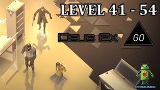 DEUS EX GO LEVEL 41 42 43 44 45 46 47 48 49 50 51 52 53 and 54 GOLD SECRET LAB NOVAKs ESCAPE iOS  Android Walkthrough Visit our