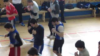 УТС сборной России по боксу среди юниоров г.Донбай 2013г.