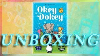 UNBOXING Okey Dokey from Tasty Minstrel Games - What