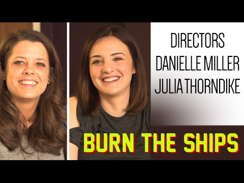 Spotlight on Danielle Miller and Julia Thorndike, directors of 'Burn the Ships' documentary on Akron Racers softball (video)