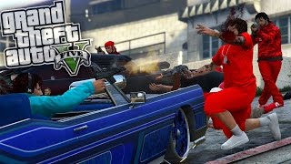 GTA 5 ONLINE | BLOODS VS CRIPS WAR EP. 1 [HQ]