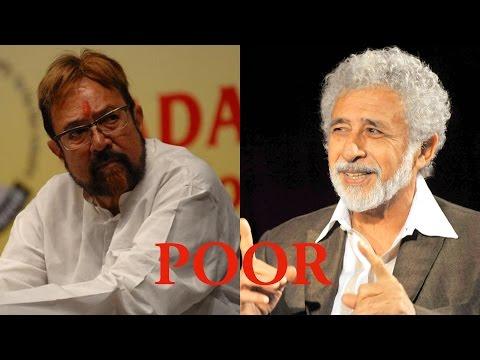 "Naseeruddin Shah calls Rajesh Khanna ""poor and less Intellectual"""