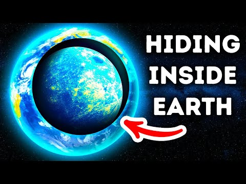 Ancient Planet Hides Inside Earth for 4 Billion Years