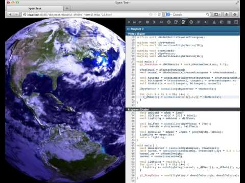 WebGL Shader Editor - Firefox Developer Tools