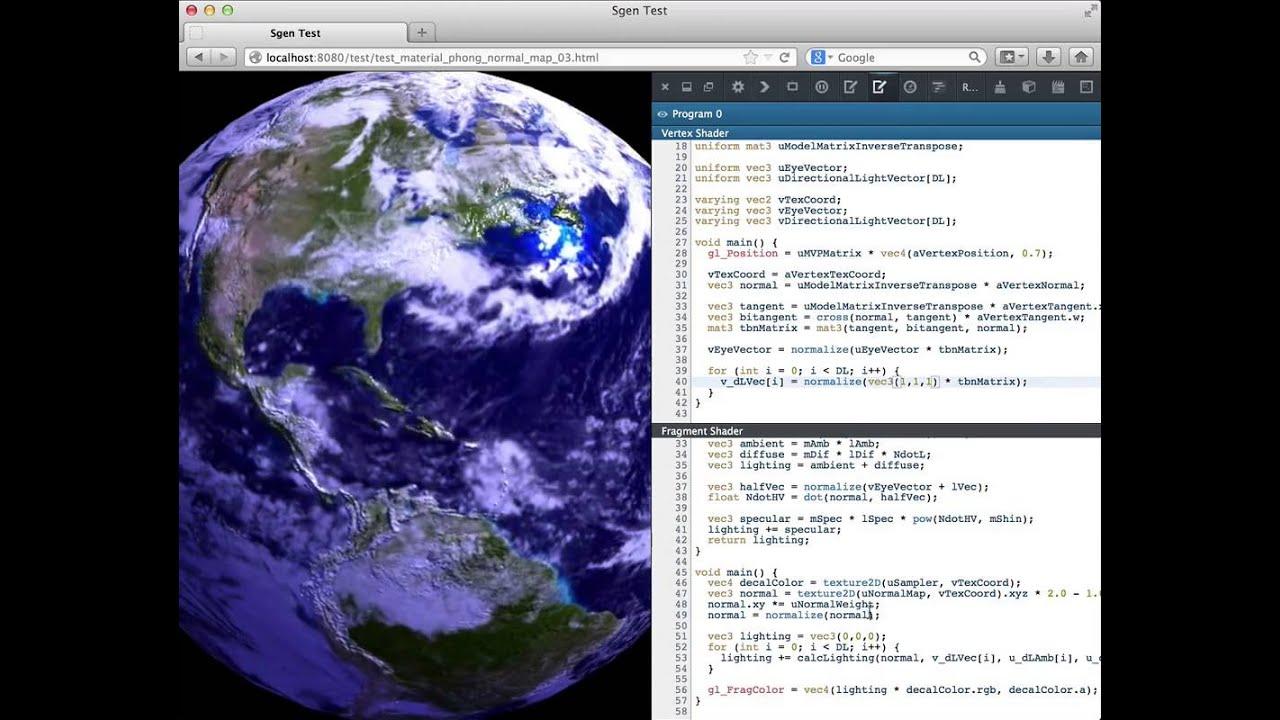 Live editing WebGL shaders with Firefox Developer Tools - Mozilla