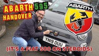 Abarth 595 Handover (It's a Fiat 500 on Steroids!)