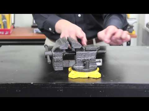 4 Quot Bench Vise 38 604 Youtube