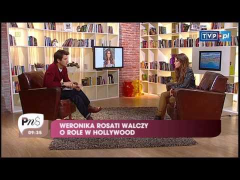 Weronika Rosati o pracy w USA