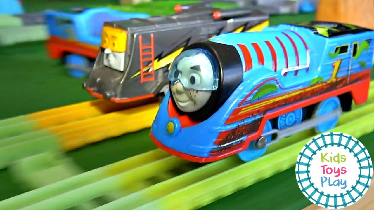 Thomas & Friends Turbo Speed Trackmaster Races