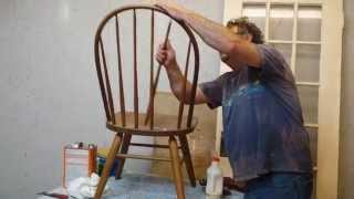 Repairing Oak Chair Spindle  Timeless Arts Refinishing