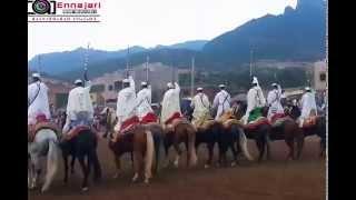 مهرجان تانوغة تاكزيرت لفن التبوريدة الأمازيغية 2015 Festivale tanogha Elksiba  tagzirte