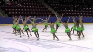 2011 Nova Novice Free Program 1 Winterfest Synchronized Skating