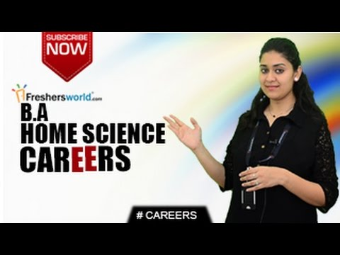 CAREERS IN BA HOME SCIENCE – MA,M.Phil,P.Hd,Nutrition ,Research,Top Recruiters,Distance Learning