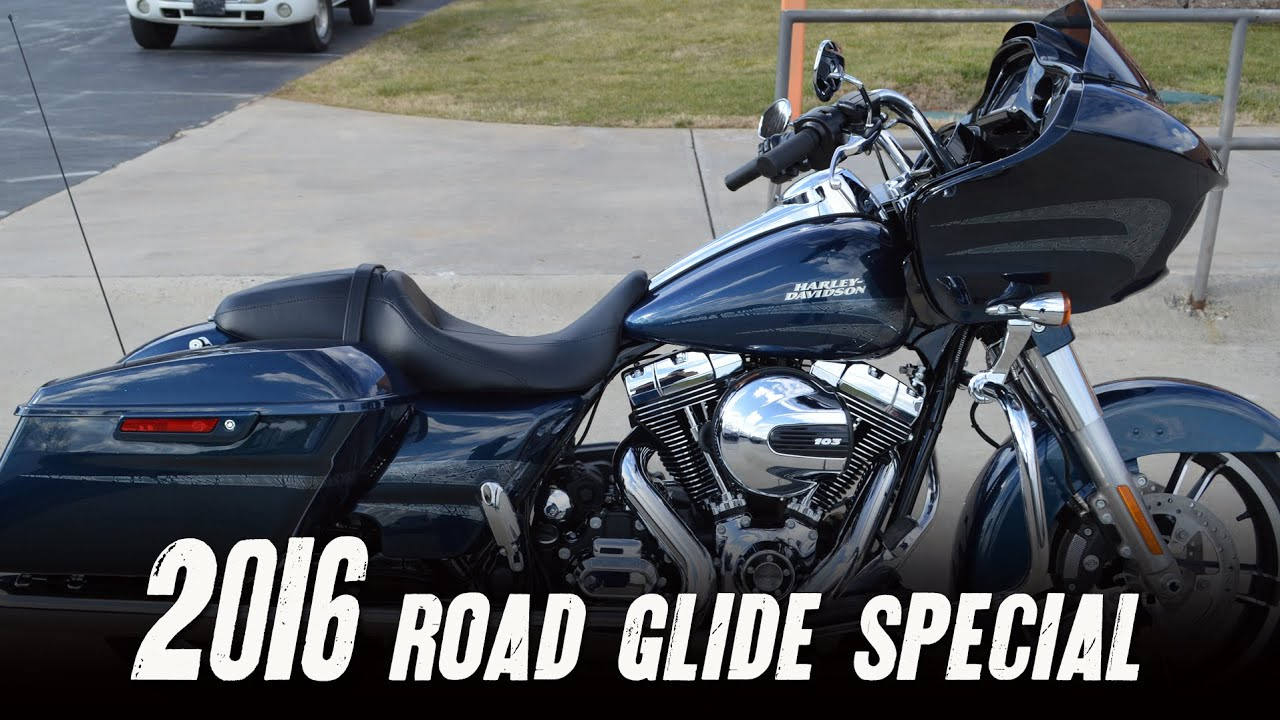 SOLD! 2016 Harley-Davidson® FLTRXS - Road Glide® Special Cosmic Blue Pearl