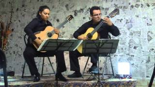 Dueto de Guitarras Scherzo - Danza Lucumí (En Vivo @ IDMAS, Semana de la Guitarra 2013)