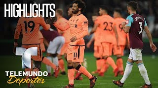 Highlights: West Ham United 1 – Liverpool 4 | Premier League | Telemundo Deportes