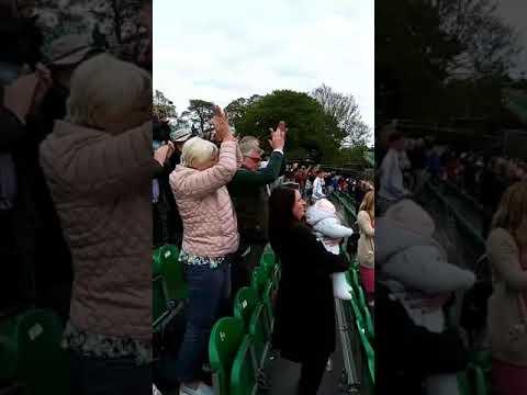 Kevin O'Brien 100 Celebration Pak vs Ireland Test Match