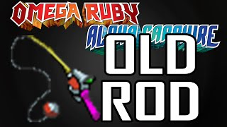 【How to get OLD ROD】 Pokemon Omega Ruby Alpha Sapphire
