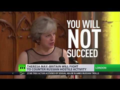 Theresa May: \
