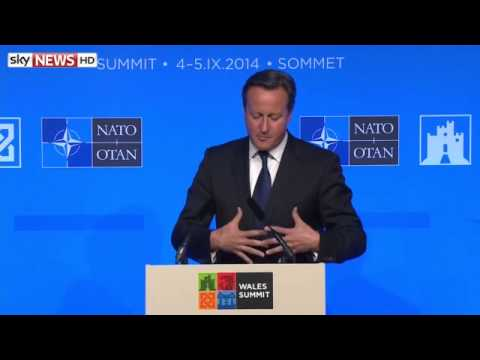 NATO: David Cameron Addresses Summit In Newport