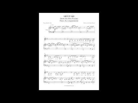 Let It Go (Frozen) - Idina Menzel (Piano Accompaniment) by Aldy