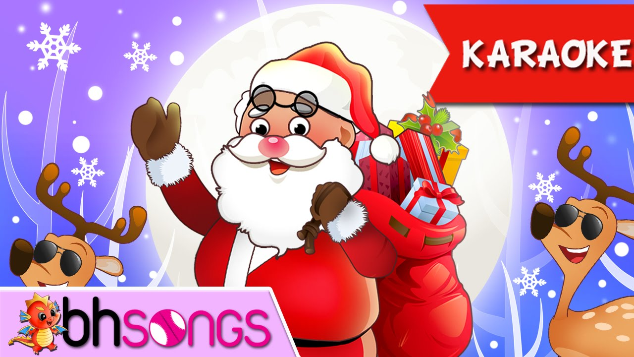 We Wish You A Merry Christmas Karaoke | Christmas Songs ( 4K Music ...