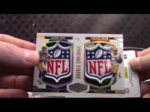 2016 Plates & Patches Football 12 Box Case Pick Your Team GB
