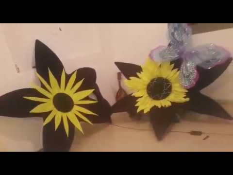 deco Diy big sunflowers