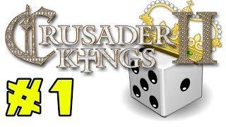 Crusader Kings II: Holy Fury - RANDOM WORLD - Episode 1
