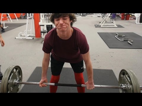 PR WEEK! | Teen Beginners Bulking Plan | P5D1
