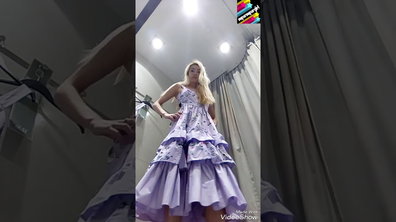40fcafc7372d H&M Long tiered dress £34.99 Light purple/Floral - YouTube