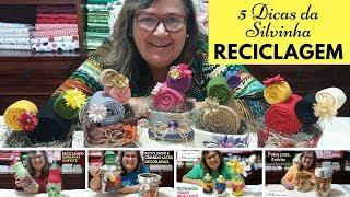 5 Dicas para Reciclar e Criar Lindos Enfeites