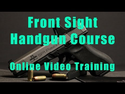 Basic Online Handgun Training-Online Gun Handling Basics-Basic Handgun Safety  Course-Denver CO