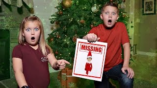 Our Elf on the Shelf is MISSING!