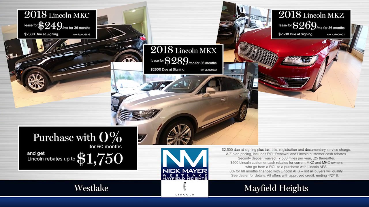 deals specials index suv mkt lease global lincoln rebates incentives htm finance norwood in