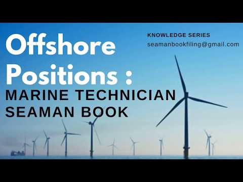 Offshore, Oil & Gas Positions from an #seamanbooks perceptive   Marine Technician Rank