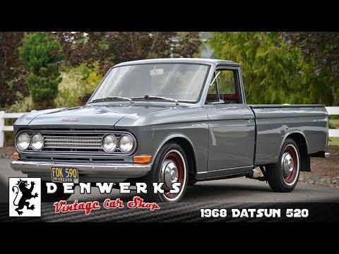 1968 Datsun 520 Pickup - Upgraded A14 - 5spd - Sweet Truck!!!