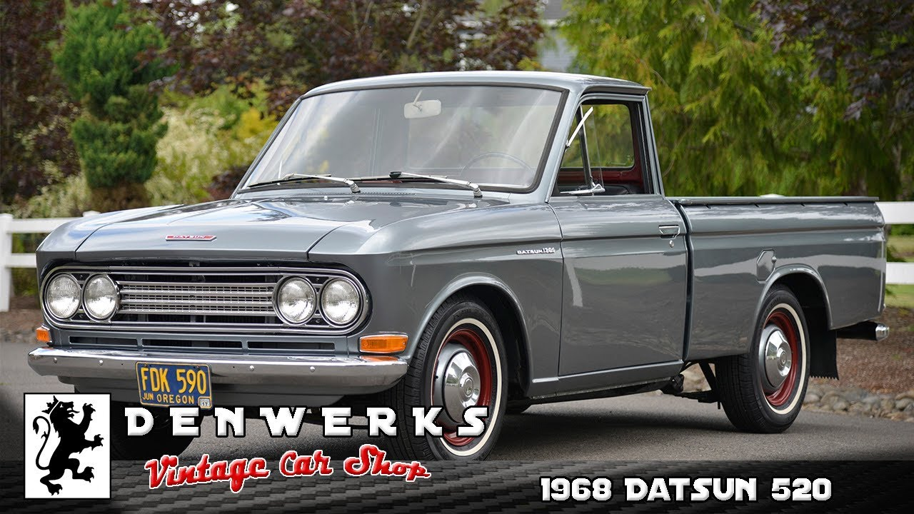 Details About 1971 Datsun 521 Pickup 71 Wiring Diagram Wire Data Images Gallery 1968 520 Upgraded A14 5spd Sweet Truck Youtube Rh Com
